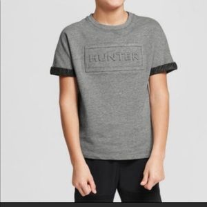 Hunter for Target Boys Gray Tee Size XL (16)